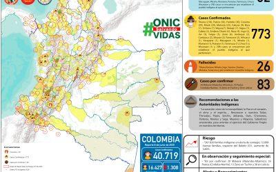 Boletín  Sistema De Monitoreo Territorial (SMT) – ONIC Información Para Proteger La Vida Y Los Territorios.