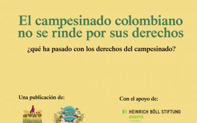 El campesinado colombiano no se rinde por sus derechos